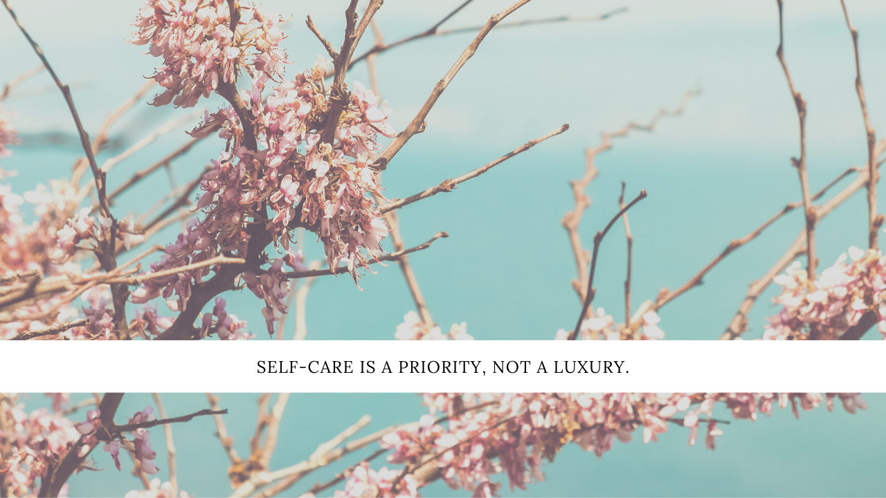 30 easy self-care tips when life gets too hectic